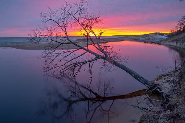 Brevoort River Sunset