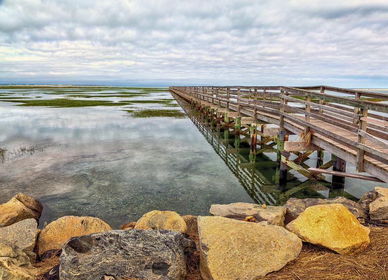 Reflections of a Boardwalk