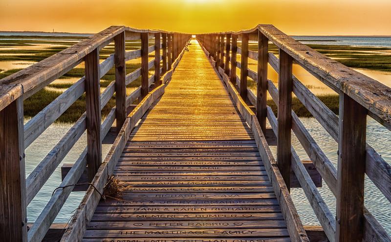 Boardwalk Evening Gold