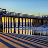 Sunrise at Avalon Pier