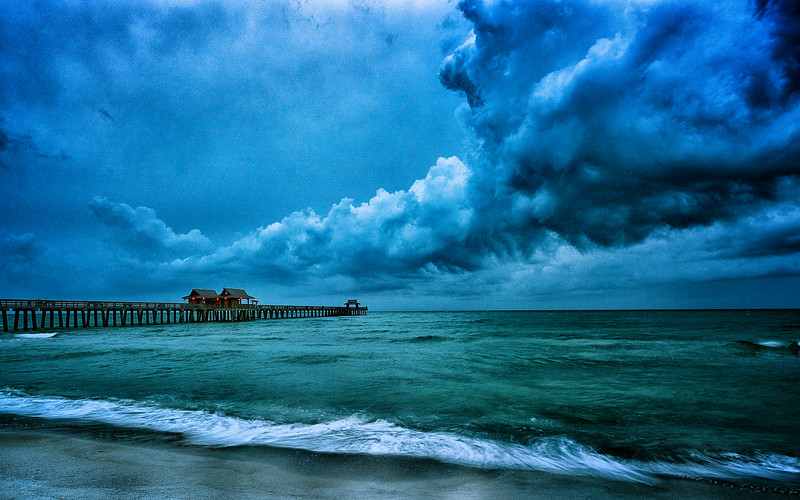 Naples Pier at Dawn