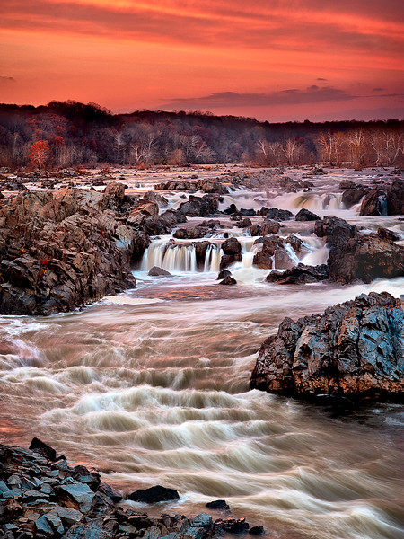 Great Falls in Twilight No. 2