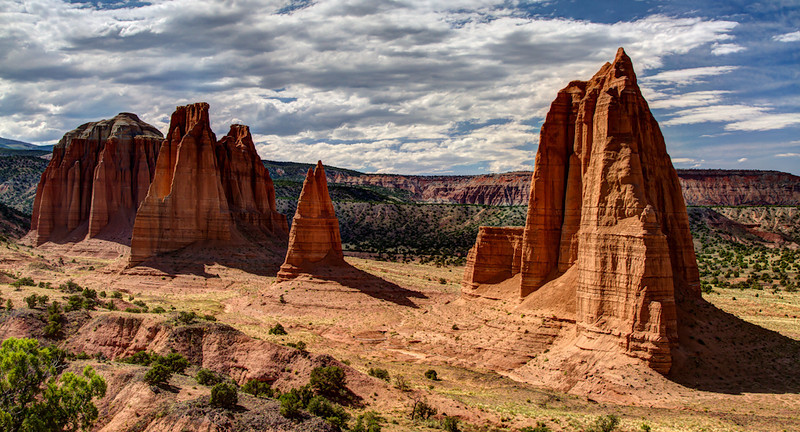 Cathedral Valley - Capitol Reef National Park, Utah - HDR Image - Jay Brooks - July 2011
