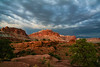 Heavy skies - Capitol Reef National Park, Utah - Jay Brooks - July 2007