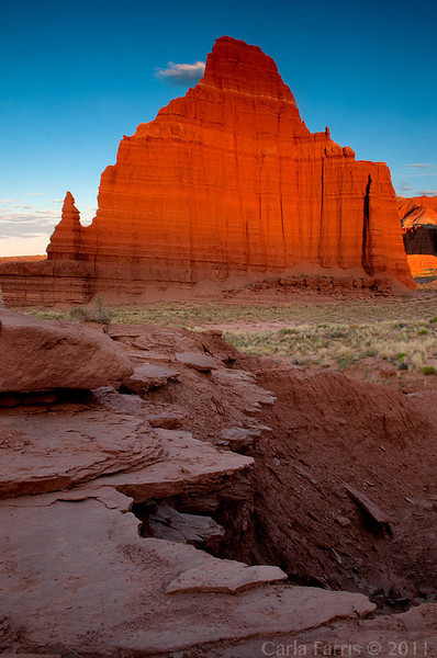Temple of the Moon - Cathedral Valley, Utah - Carla Farris - July 2011