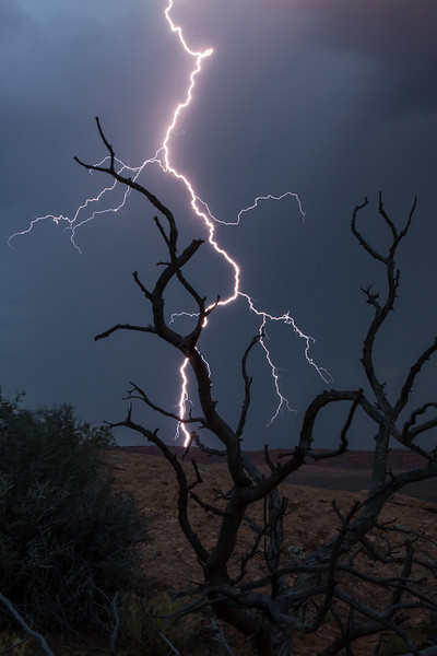 Lightning at Arches - Arches National Park - Jay Brooks  - July 2011