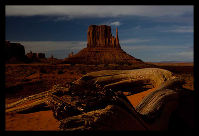 Monument Valley - Monument Valley Navajo Tribal Park, Utah - Andrew Ehrlich - May 2009