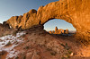 Turret Arch in Spectacles  - Arches National Park, Utah - Mark Gromke - January 2012
