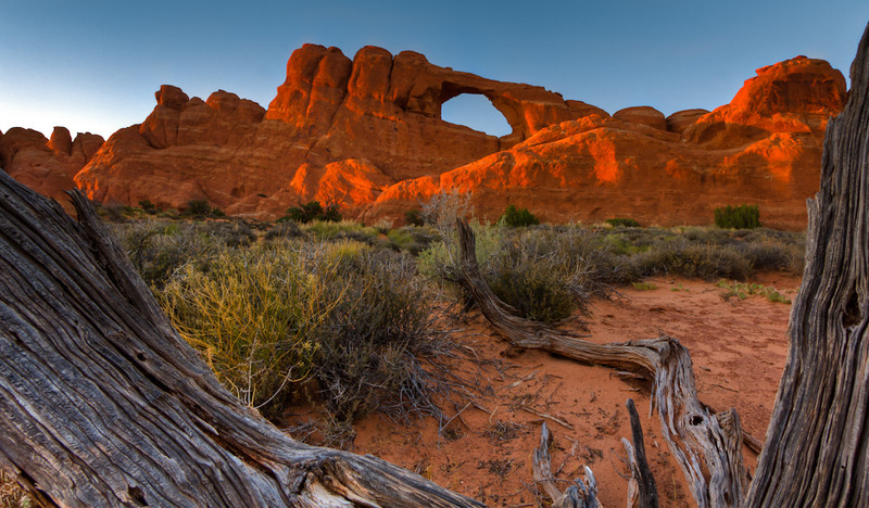 Last Light - Arches National Park, Utah - Jay Brooks - July 2011