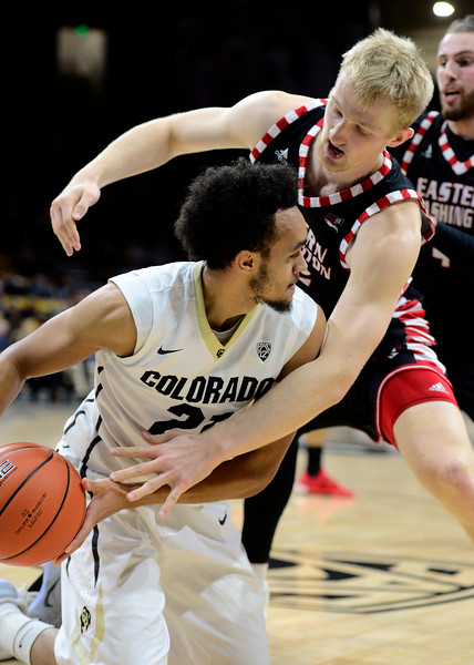 Colorado Eastern Washington NCAA Men's Basketball