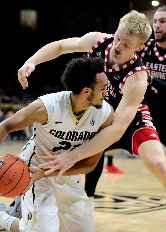Colorado Eastern Washington NCAA Men's Basketball