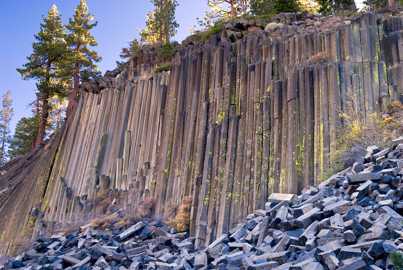 Devil's Postpile National Monument, CA