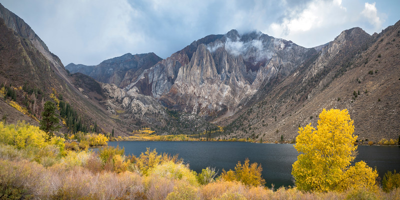 Convict Lake in October, Eastern Sierras, Mono County, CA