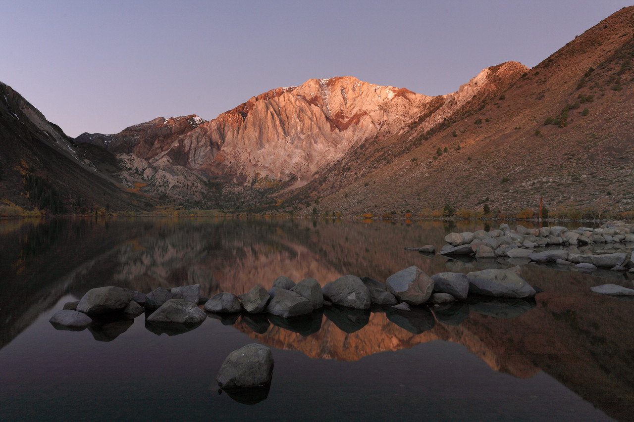 First Light at Convict Lake