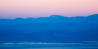 Pastel Owens Valley Sunset