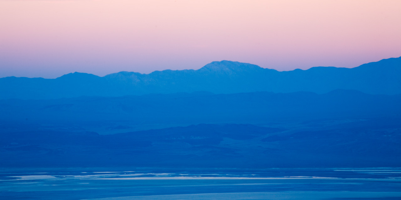 Pastel Owens Valley Sunset