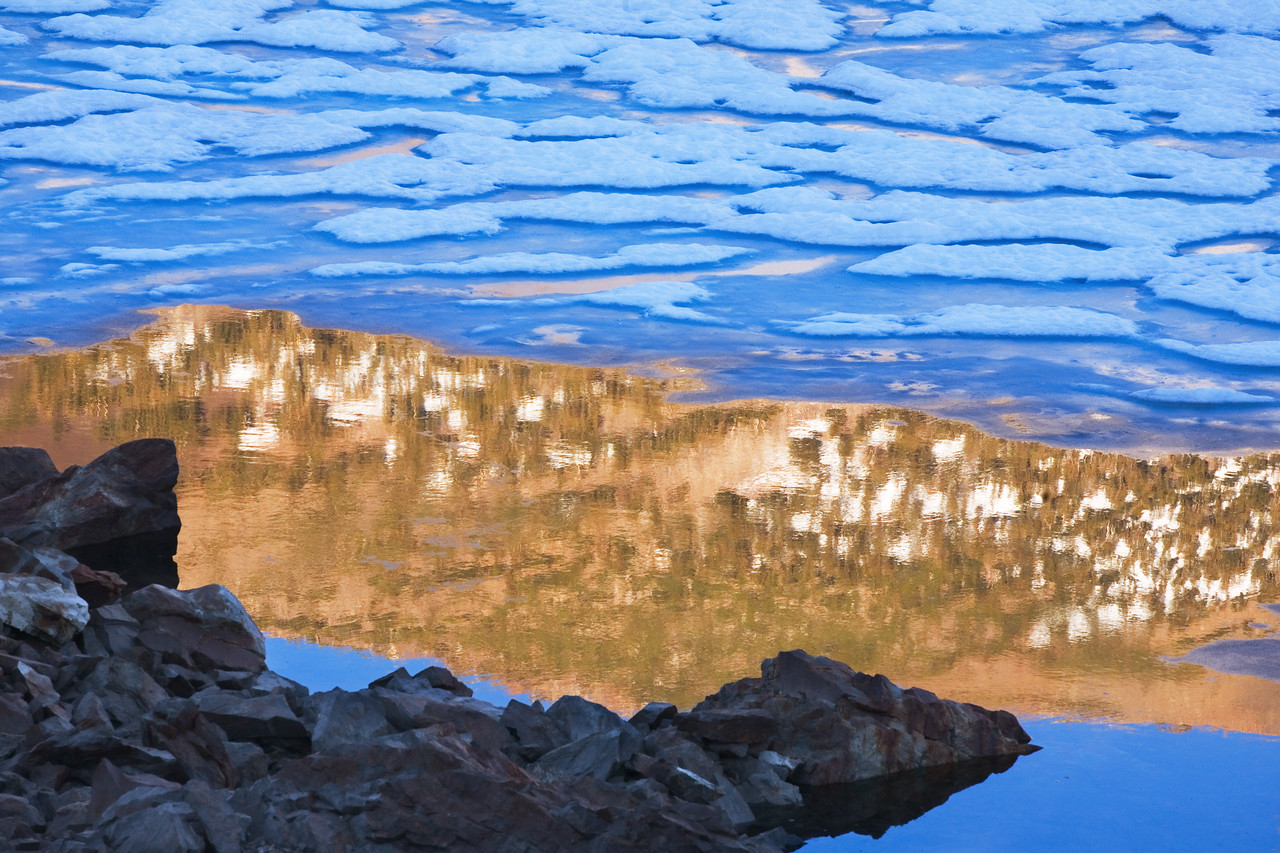 Tioga Lake Ice I