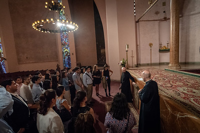 AGBU Summer Interns Visit St. Vartan Cathedral, July 17, 2018