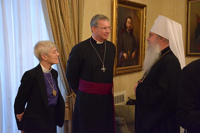 Honoring Metropolitan Joseph Al-Zehlaoui and Archbishop Mor Dionysius Jean Kawak, Diocesan Center, New York City, November 29, 2016
