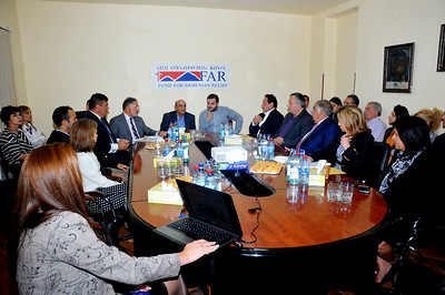 FAR Board Visits Armenia, September 2016