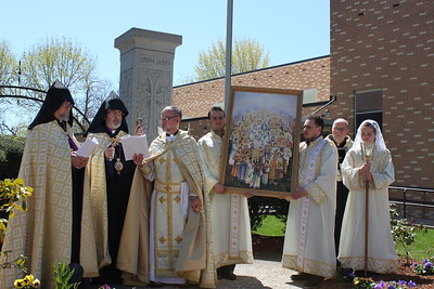 Feast of the Holy Martyrs of 1915 Across the Eastern Diocese, April 24, 2016
