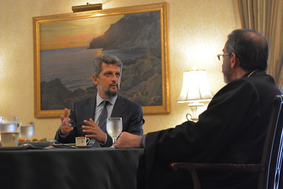 Garo Paylan Visit Diocesan Center, New York City, September 4, 2016