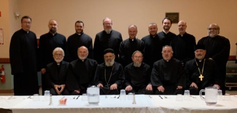 Sts. Ghevontiantz Day 2019: New England region clergy.