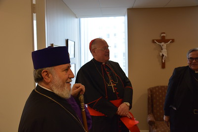 His Holiness Karekin II in New York and New Jersey, November 8, 2016