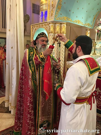 Installation of New Patriarchal Vicar of the Syriac Archdiocese of the Eastern USA, May 28, 2016