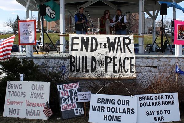 11.04.09 Bangor Peace Rally