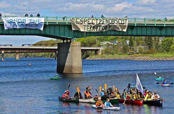15.05.23 Flotilla on the Penobscot River in Bangor
