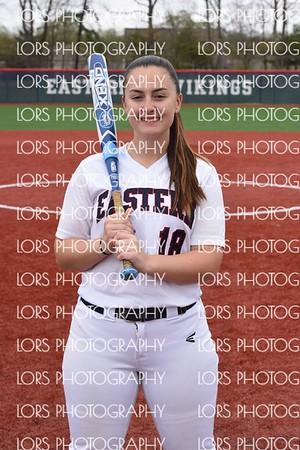 2017-4-19 Eastern HS Girls Varsity Softball