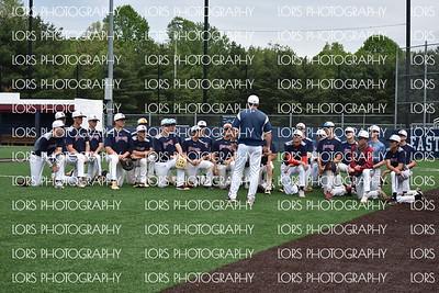 2019-05-08 Eastern Regional HS V Boys Baseball