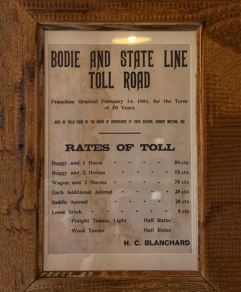 Bodie State Historic Park, California