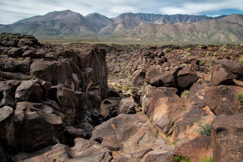 Fossil Falls Scenic Area, California