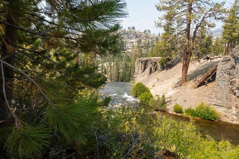Rainbow Falls,  Devil Postpile National Monument, Mammoth Lakes, California