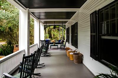Porch, Grayfield Inn