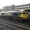 66502 in the rain on 4M61 Southampton - Trafford Park