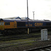 66708 'Jayne' stabled at Eastleigh