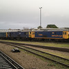 73119 73141 and 73204 at Eastleigh