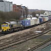 66533 heads 4O50 Daventry - Southampton liner through Eastleigh