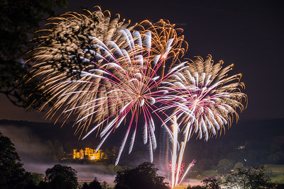 Eastnor Castle Fireworks Competition 2015
