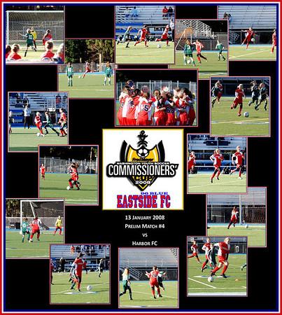 preliminary match #4 vs Harbor FC 13 January 08