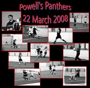Powell's Panthers_22 March vs Strikers White