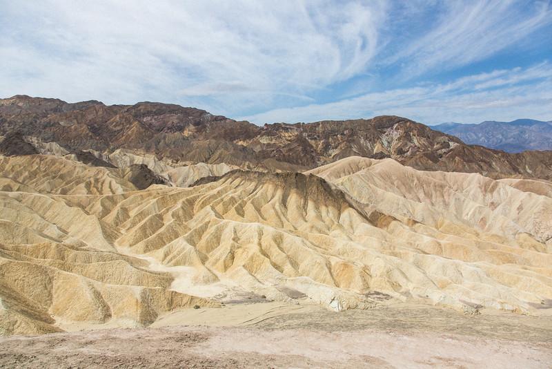 Zabriske Point, Death Valley NP, Ca