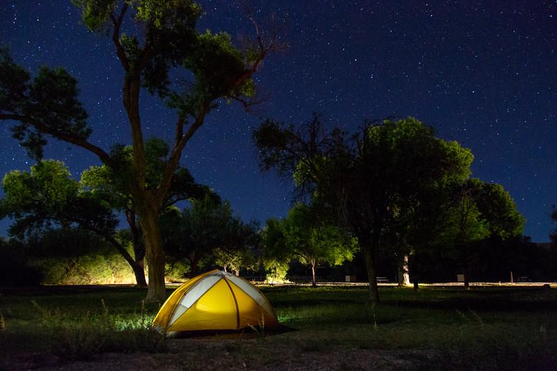 Camp Site, Big Bend NP, TX