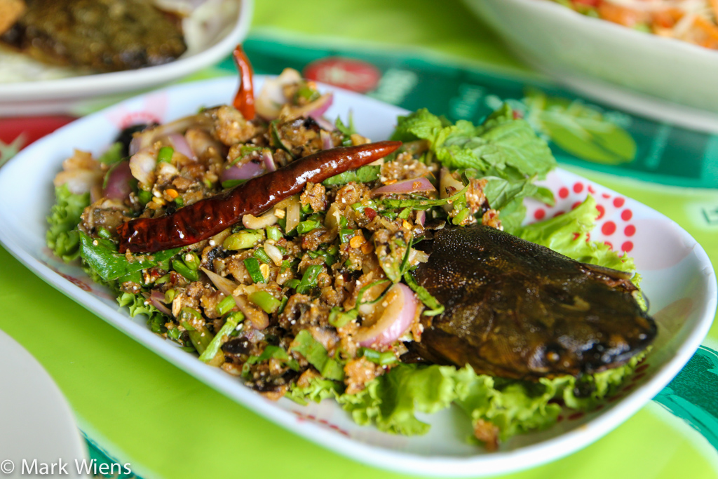 thai catfish salad X2 Top 16 Bangkok Street Food Sanctuaries (Are You Ready to Eat?)