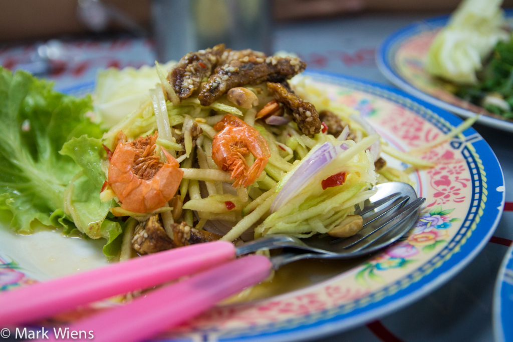 Thai salad dishes