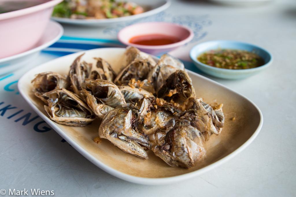 แก้มปลาทูทอด