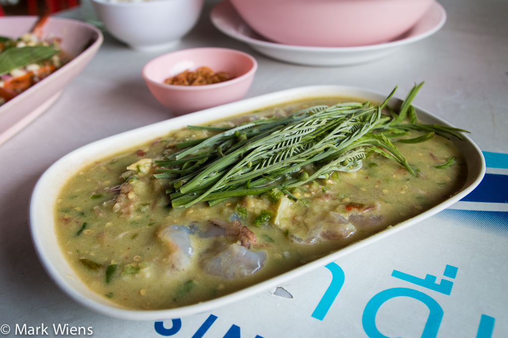 Goong chae nam pla (กุ้งแช่น้ำปลา)